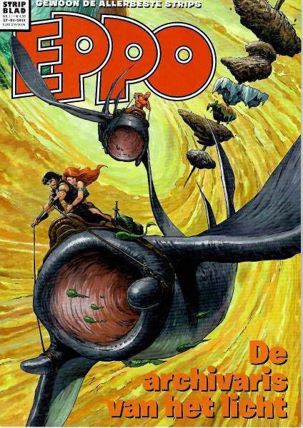 Eppo - Stripblad 2021 (Jaargang 13) 11 Nummer 11