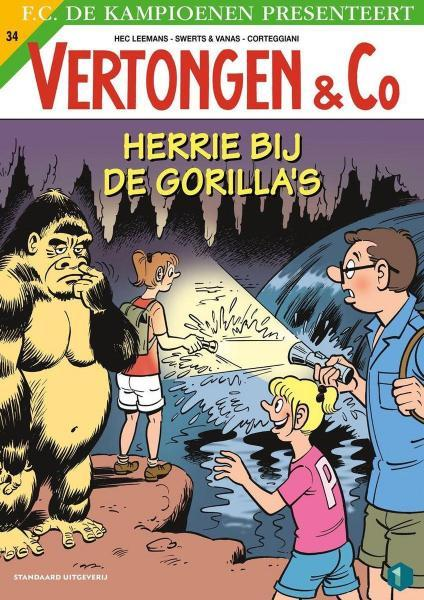 Vertongen en Co 34 Herrie bij de gorilla's