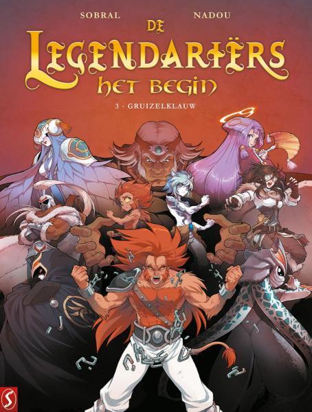 De legendariërs - Het begin 3 Gruizelklauw