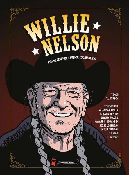 Willie Nelson 1 Willie Nelson: Een getekende levensgeschiedenis