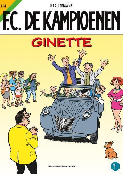 F.C. De Kampioenen 114 Ginette