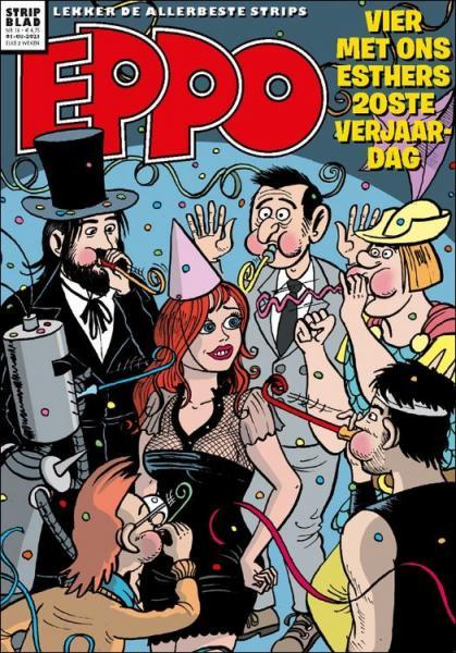 Eppo - Stripblad 2021 (Jaargang 13) 16 Nummer 16