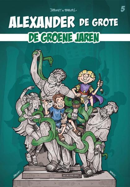 Alexander de grote (Proost) 5 De groene jaren