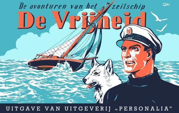 Kapitein Rob (Personalia) 1 De avonturen van het zeilschip 'De vrijheid'