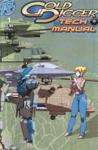 Gold Digger Tech Manual 1 Issue #1