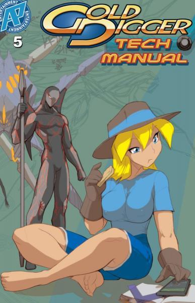 Gold Digger Tech Manual 5 Issue #5