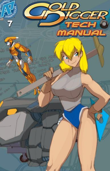 Gold Digger Tech Manual 7 Issue #7