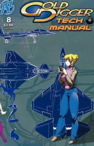 Gold Digger Tech Manual 8 Issue #8