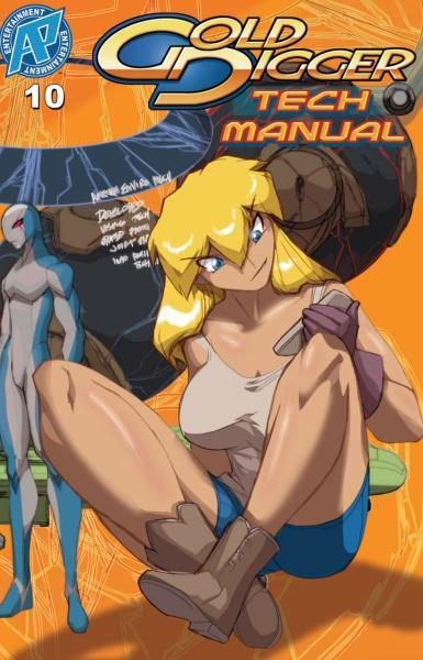 Gold Digger Tech Manual 10 Issue #10
