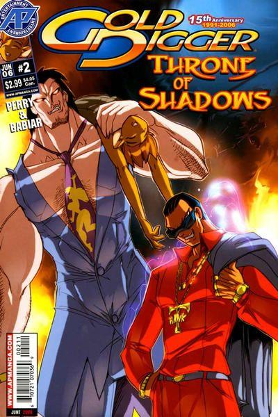 Gold Digger: Throne of Shadows 2 Issue #2