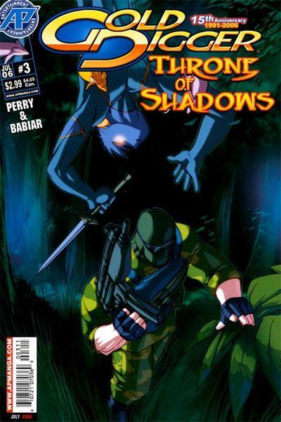 Gold Digger: Throne of Shadows 3 Issue #3
