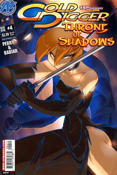 Gold Digger: Throne of Shadows 4 Issue #4