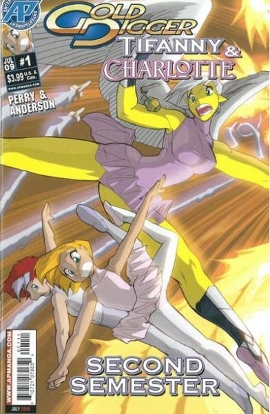 Gold Digger: Tiffany & Charlotte A1 Issue #1
