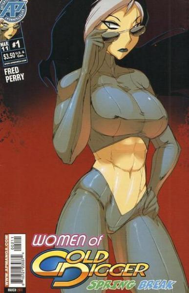 Women of Gold Digger: Spring Break 1 Issue #1