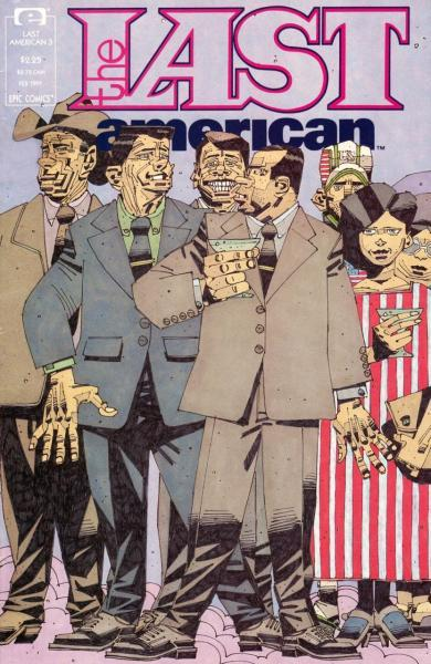 The Last American 3 Issue #3