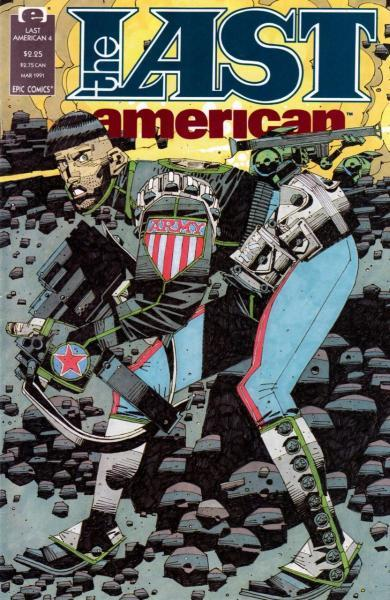 The Last American 4 Issue #4