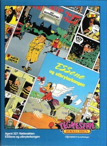 Tegneserie bokklubben 41 Sak: Nattevakten / Essene og utbryterkongen