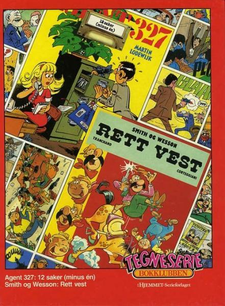 Tegneserie bokklubben 31 12 saker (minus én) / Rett vest