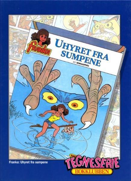 Tegneserie bokklubben 111 Uhyret fra sumpene