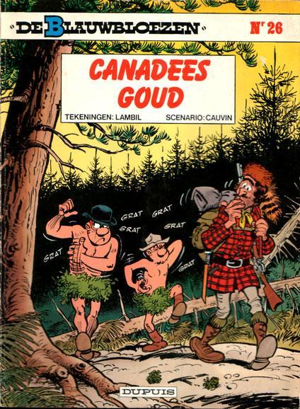 De Blauwbloezen 26 Canadees goud