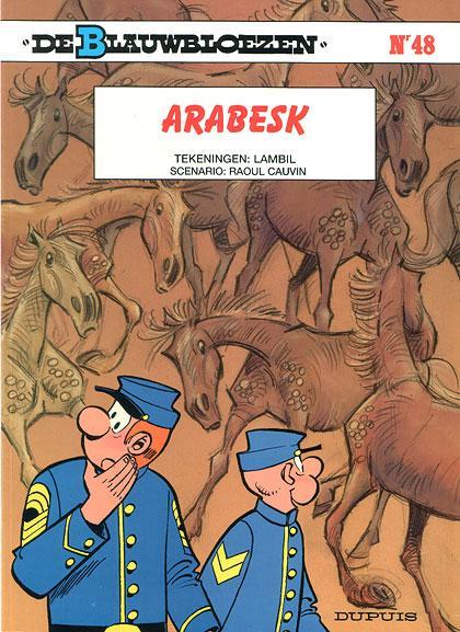 De Blauwbloezen 48 Arabesk
