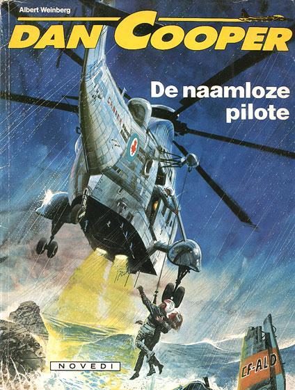Dan Cooper 29 De naamloze pilote