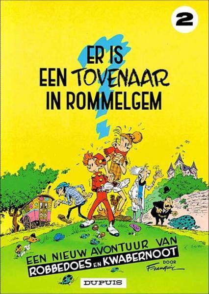 Robbedoes en Kwabbernoot 2 Er is een tovenaar in Rommelgem