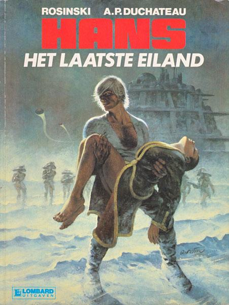 Hans (Rosinski/Kas) 1 Het laatste eiland
