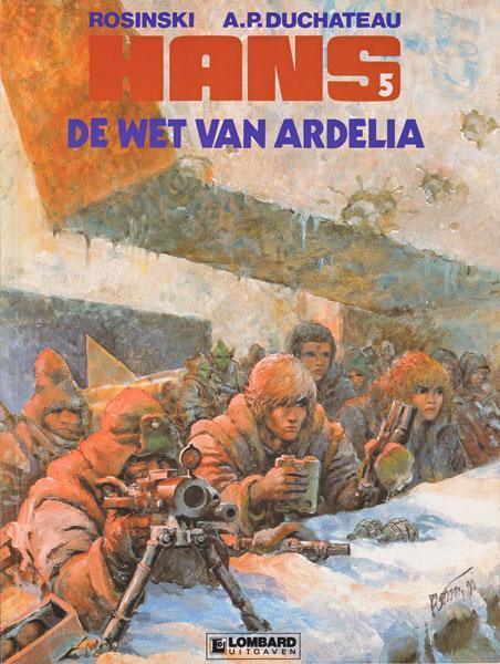Hans (Rosinski/Kas) 5 De wet van Ardelia