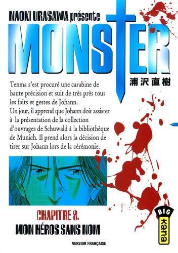 Monster (Urasawa) 8 Mon héros sans nom