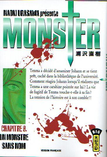 Monster (Urasawa) 9 Un monstre sans nom