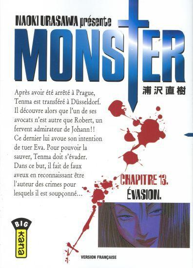 Monster (Urasawa) 13 Évasion