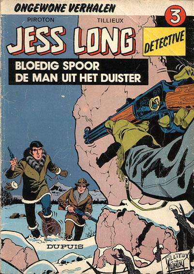 Jess Long 3 Bloedig spoor - De man uit het duister