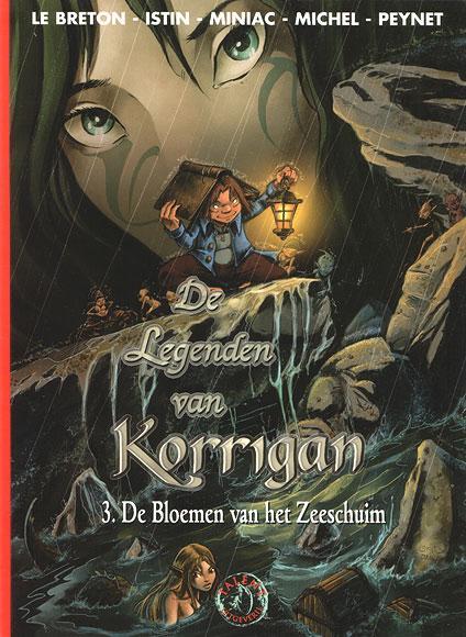 De legenden van Korrigan 3 De bloemen van het zeeschuim