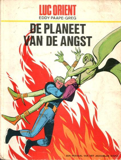 Luc Orient 4 De planeet van de angst