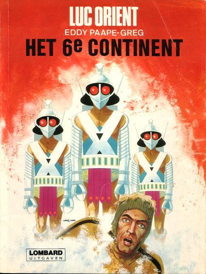 Luc Orient 10 Het 6e continent