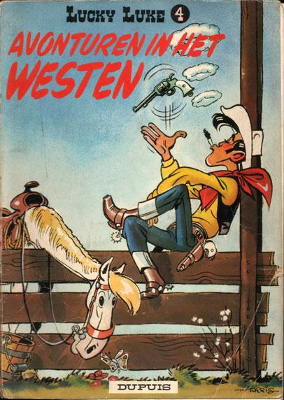 Lucky Luke (Dupuis) 4 Avonturen in het westen