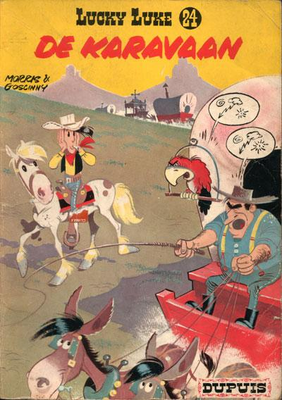 Lucky Luke (Dupuis) 24 De karavaan