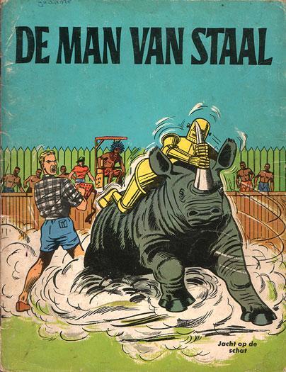 De man van staal 3 Jacht op de schat