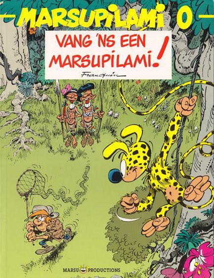Marsupilami 0 Vang 'ns een Marsupilami!