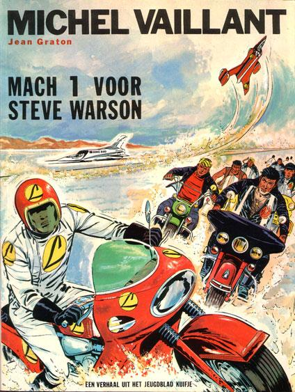 Michel Vaillant 13 Mach 1 voor Steve Warson