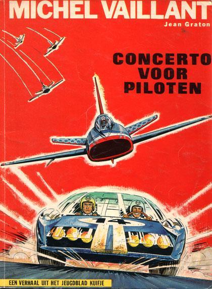 Michel Vaillant 14 Concerto voor piloten