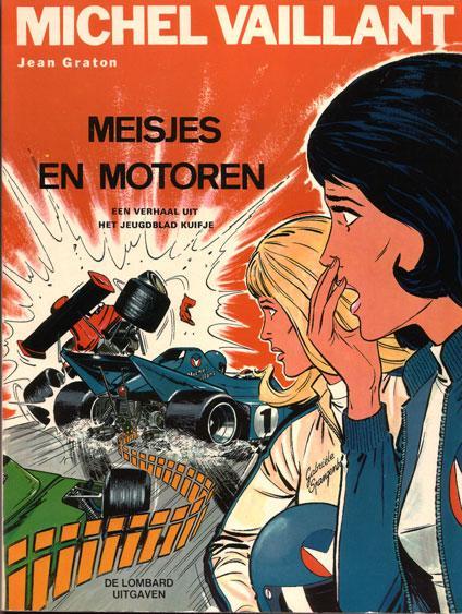 Michel Vaillant 25 Meisjes en motoren