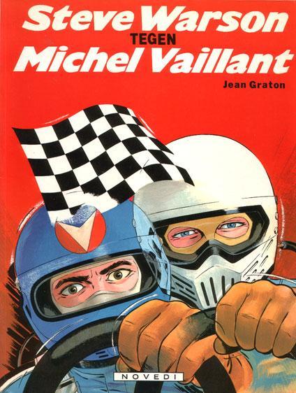 Michel Vaillant 38 Steve Warson tegen Michel Vaillant