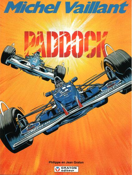 Michel Vaillant 58 Paddock