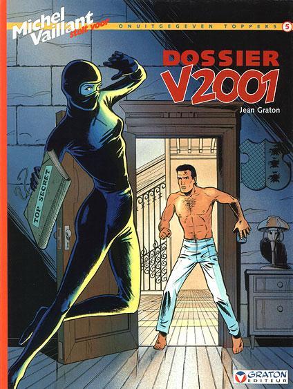 Michel Vaillant SV2 Dossier V2001