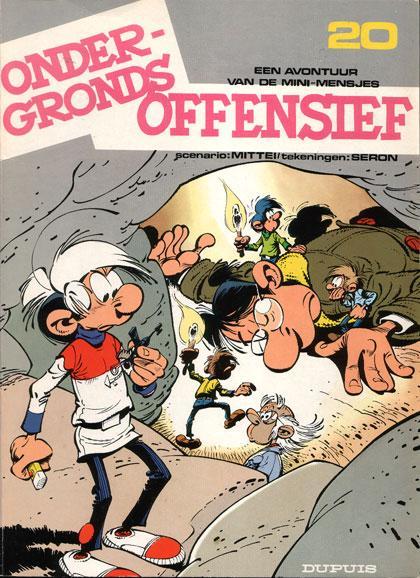 De mini-mensjes 20 Ondergronds offensief