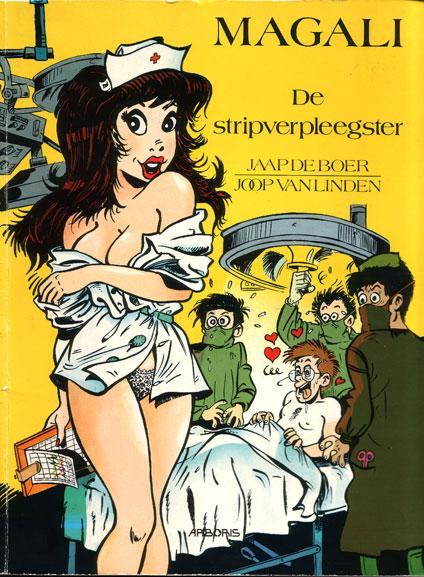 Magali 1 De stripverpleegster