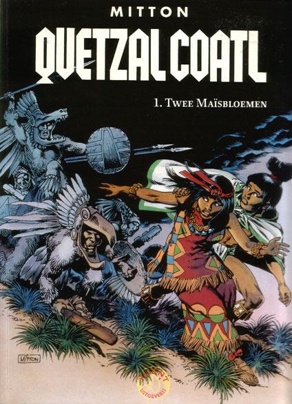Quetzalcoatl 1 Twee maïsbloemen