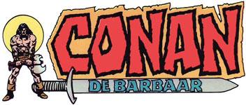 Het bloedige zwaard van Conan de barbaar